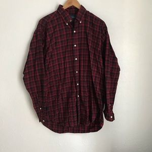 Ralph Lauren Blake Shirt Medium Black White Check